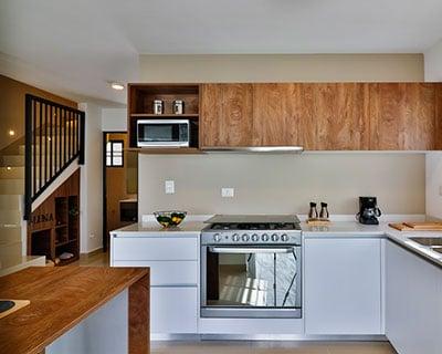 Cocina de casa en zona Dominio Cumbres en fraccionamiento Altrysa Residencial
